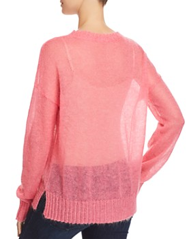 FRENCH CONNECTION - Miri Sheer Knit Sweater