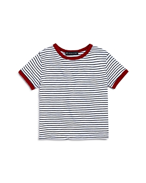 Michelle by Comune Girls Jaimie Striped Ringer Tee  Little Kid
