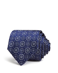 Emporio Armani Medallion Classic Silk Tie - Bloomingdale's_0