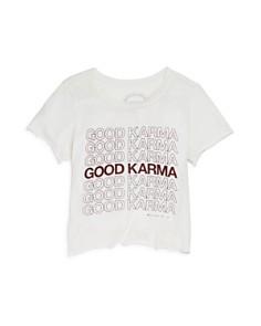 Spiritual Gangster Girls' Good Karma Tee - Little Kid, Big Kid - Bloomingdale's_0