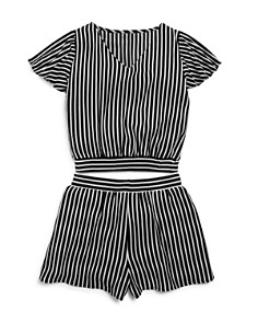 AQUA Girls' Striped Top & Shorts, Big Kid - 100% Exclusive - Bloomingdale's_0