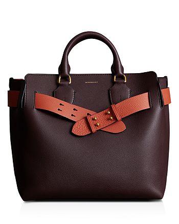 Burberry - Medium Belt Leather Tote