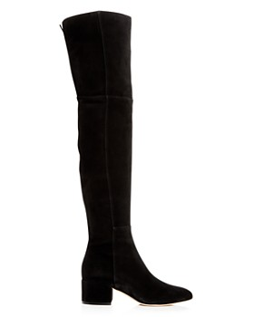 Sergio Rossi - Women's Suede Over-the-Knee Boots
