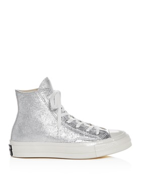 Converse - Women's Chuck Taylor All Star 70 Metallic High Top Sneakers