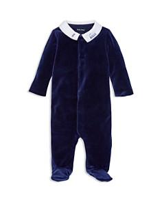Ralph Lauren - Boys' Velour Footie - Baby
