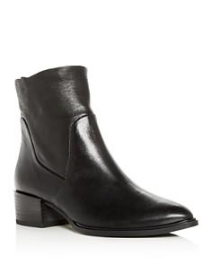 Paul Green - Women's Trey Leather Block-Heel Booties