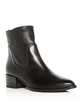 Paul Green - Women's Trey Leather Block-Heel Booties