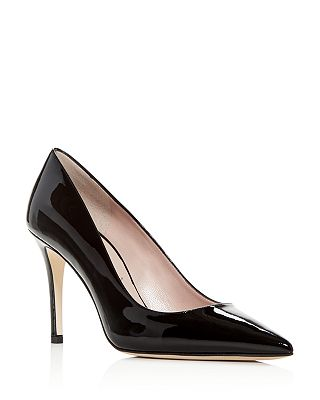 kate spade new york - Women's Vivian Patent Leather Pointed Toe Pumps