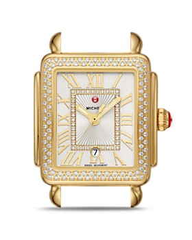 MICHELE - Deco Madison Mid Watch Head, 29mm x 31mm