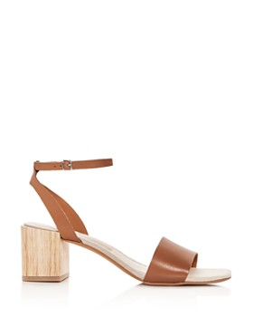 Dolce Vita - Women's Zarita Leather Block Heel Sandals