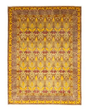 Solo Rugs Arts & Crafts 1 Hand-Knotted Area Rug, 9' 1 x 12' 2