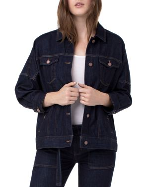 LIVERPOOL DROP-SHOULDER DENIM JACKET