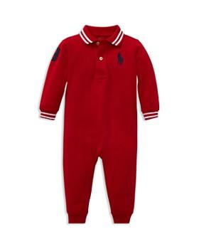 Ralph Lauren - Boys' Cotton Mesh Polo Coverall - Baby