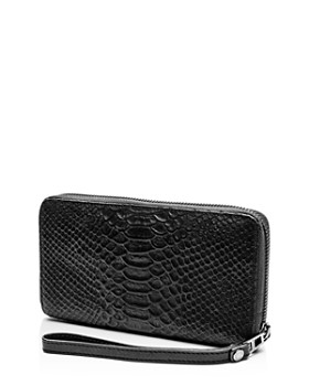 Zadig & Voltaire - Compagnon Savage Medium Croc-Embossed Leather Wallet