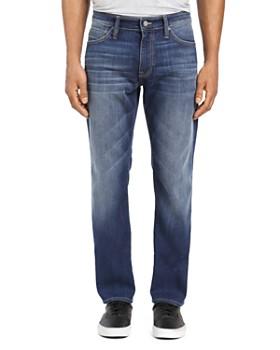 Mavi - Marcus Straight Slim Fit Jeans in Dark Brushed Williamsburg
