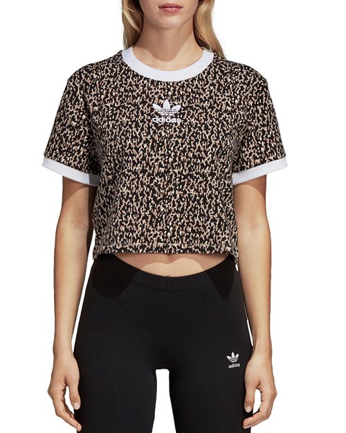 adidas Originals - Leoflage Cropped Tee
