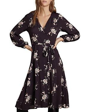 Velvet by Graham & Spencer Floral Print Wrap Dress