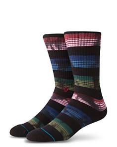 Stance Rue Vintage-Finish Multi-Color Striped Socks - Bloomingdale's_0