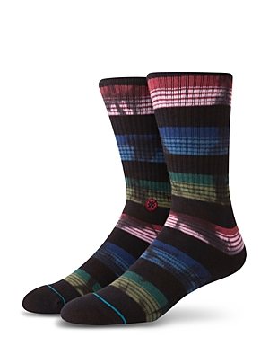 Stance Rue Vintage-Finish Multi-Color Striped Socks