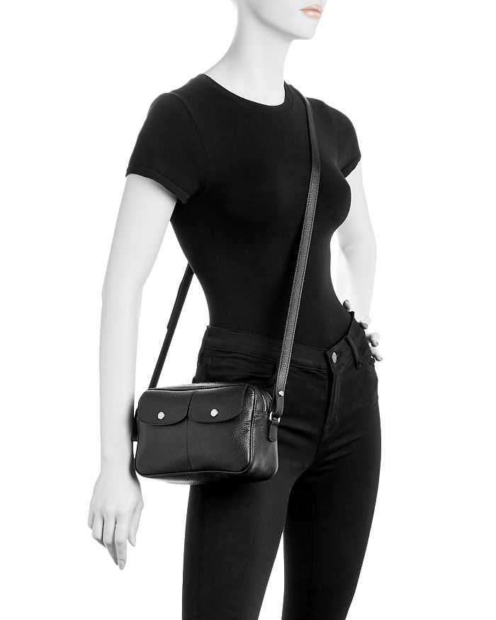 3d31e2eaf9cc Longchamp - Le Foulonne Leather Crossbody Camera Bag