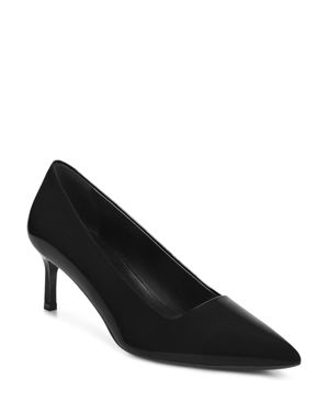 VIA SPIGA WOMEN'S BETHANY PATENT LEATHER MID-HEEL PUMPS