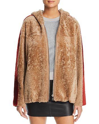 Maximilian Furs - Hooded Lamb Shearling Jacket - 100% Exclusive