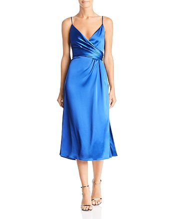 Jill Jill Stuart - Faux Wrap Dress
