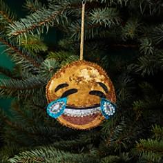 Bloomingdale's Sequin Tears of Joy Emoji Ornament - 100% Exclusive_0