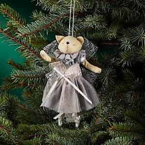 Bloomingdale's Fabric Fox Ballerina Ornament - 100% Exclusive