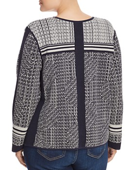 NIC and ZOE Plus - Forefront Geo Print Jacket