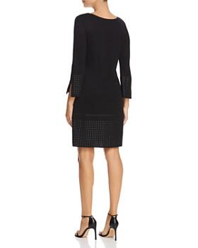 NIC and ZOE - Tonal Stud Trim Dress
