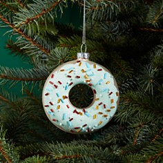 Bloomingdale's Donut Glass Ornament - 100% Exclusive _0