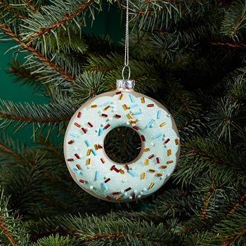 Bloomingdale's - Donut Glass Ornament - 100% Exclusive - Bloomingdale's Donut Glass Ornament - 100% Exclusive Bloomingdale's