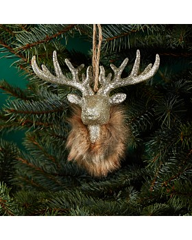 bloomingdales reindeer head ornament 100 exclusive