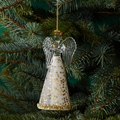 Bloomingdale's Glass Angel Ornament with Gold Stars - 100% Exclusive _0