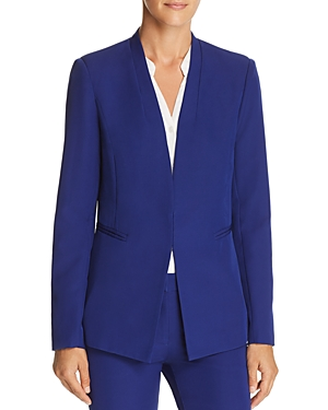 Aqua Stand-Collar Blazer - 100% Exclusive