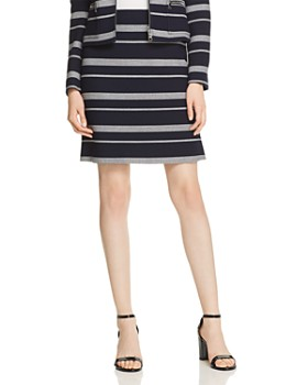 BOSS - Manoara Textured A-Line Skirt