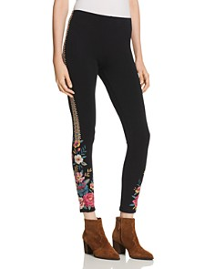 Johnny Was - Katina Embroidered Leggings