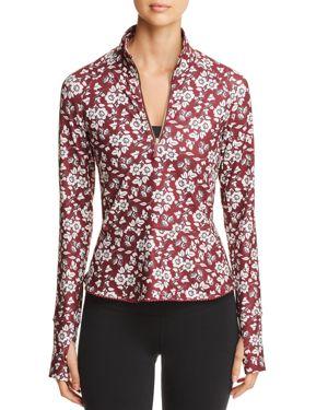 kate spade new york Whimsy Floral Half-Zip Jacket