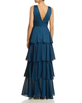 Laundry by Shelli Segal - Tiered Ruffle Gown
