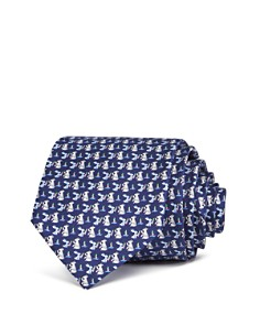 Salvatore Ferragamo Kangaroo & Rabbit Silk Classic Tie - Bloomingdale's_0