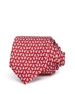 Salvatore Ferragamo Bears with Neckties Silk Classic Tie