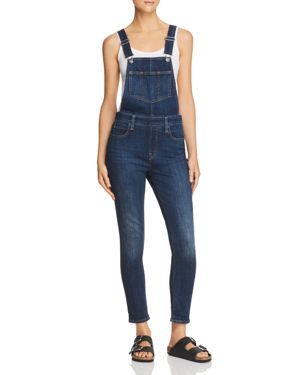 Skinny Denim Overalls In Over And Out