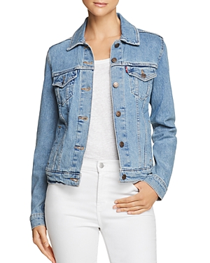 Levi's Original Trucker Denim Jacket in Throw Elbows