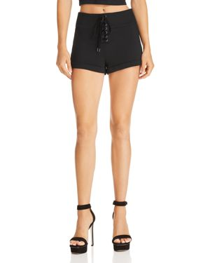 GUESS SAPPHIRE LACE-UP HOT SHORTS