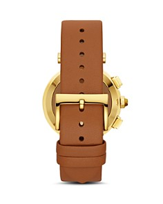 Tory Burch - The Classic T Tan Strap Hybrid Smartwatch, 36mm