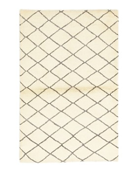 "Solo Rugs - Moroccan 2 Hand-Knotted Area Rug, 3' 10"" x 6'"
