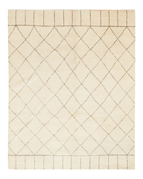 """Solo Rugs - Rabat Hand-Knotted Area Rug, 8'1"""" x 10'3"""""""
