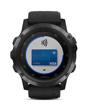 Garmin - fenix 5X Plus Sapphire Premium Multisport GPS Smartwatch, 51mm