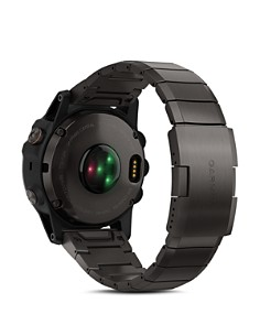 Garmin - fenix 5X Plus Sapphire Premium Multisport GPS Smartwatch with Titanium Strap, 51mm